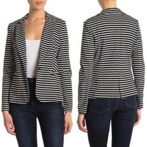 NWT Philosophy Notch Collar Ponte Blazer